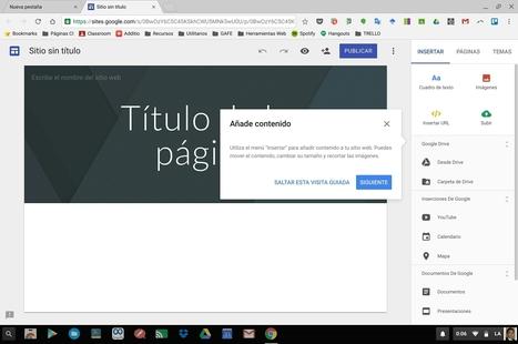 Nuevo Google Sites | MATE AL DÍA (Educación y TICs) | CURSO INSTRUCTOR ACADEMICO | Scoop.it