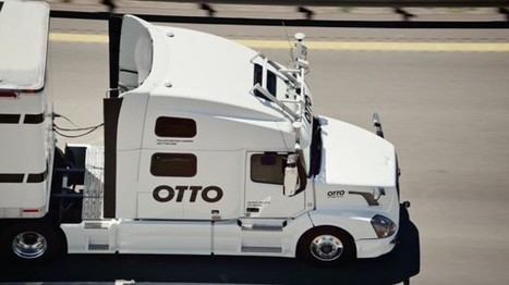 Self-Driving Trucks May Hit the Road Before Google's Cars | Post-Sapiens, les êtres technologiques | Scoop.it