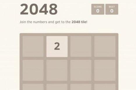 Le créateur de «2048» n'a jamais gagné une seule partie de son propre jeu   Marc Henri MAISONHAUTE   Internet   L'actualité high tech   Scoop.it