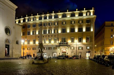 Hotel de luxe Rome Italie - Grand Hôtel de la Minerve | Hotel Collection | Scoop.it