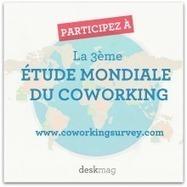 3e étude mondiale sur le coworking : dépêchez-vous de participer ! - Zevillage.net | Teletravail et coworking | Scoop.it
