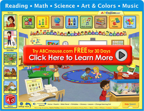 ABCmouse: Kids Learning, Phonics, Educational Games, Preschool-Kindergarten Reading | Early Childhood Technology Education | Scoop.it