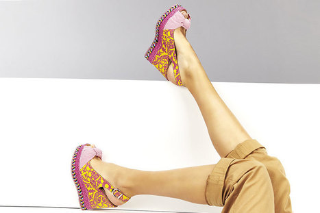 Fabi Shoes: Wedge sandals Mon Amour S/S 2015 | Le Marche & Fashion | Scoop.it
