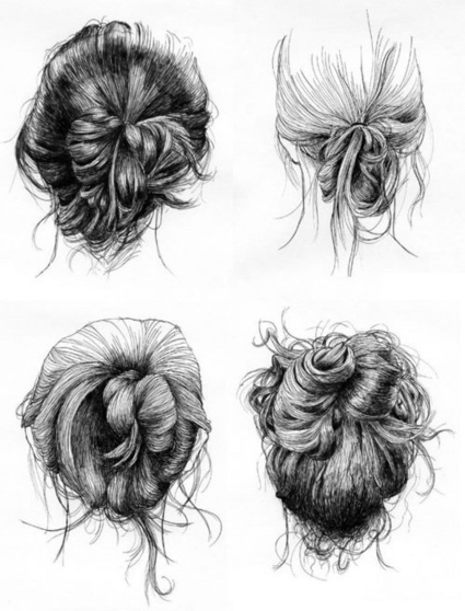 Amazing Pencil Drawings of Hair - Fine Art Blogger | Art Education | Scoop.it