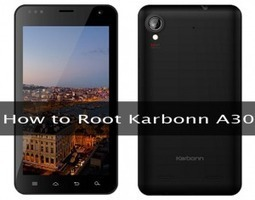 How to root Karbonn A30 | how to root karbonn a30 | Scoop.it