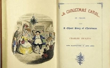 The Cleveland Public Library Found a Lost First Edition Copy of 'A Christmas Carol' | Library design | Scoop.it