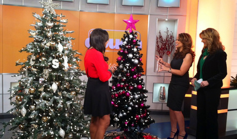 Christmas Tree Trends: 3 Looks To Decorate Your Tree With Glamour - CBS Local | Christmas | Scoop.it