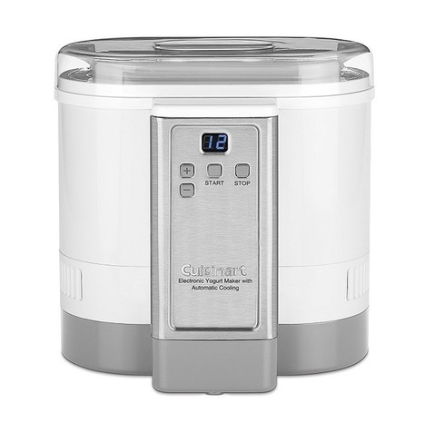 Cuisinart CYM-100 Electronic Yogurt Maker Review | Moms | Scoop.it