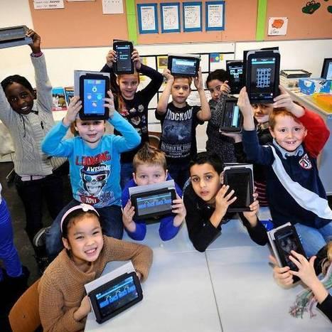 Tablet rukt op in onderwijs, omgeven door lof en bedenkingen | Tablets in de klas | Scoop.it