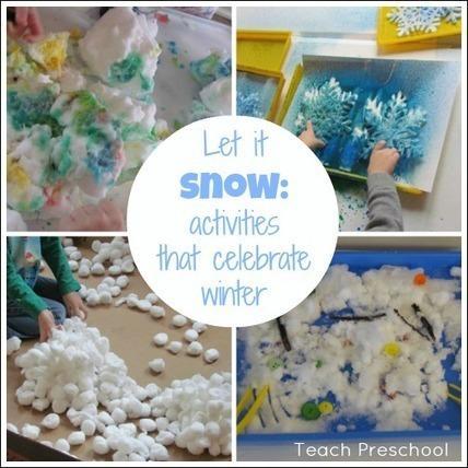 Let it snow | Teach Preschool | Teach Preschool | Scoop.it