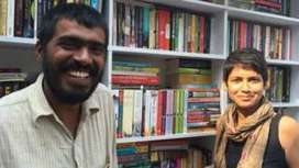 Travelling library: The two Indians on a road trip to promote books - BBC News | Reading discovery | Scoop.it