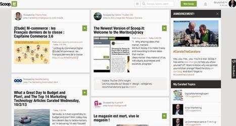 Le nouveau Scoop.it va vous emporter au delà de la curation | Technologie Au Quotidien | Scoop.it