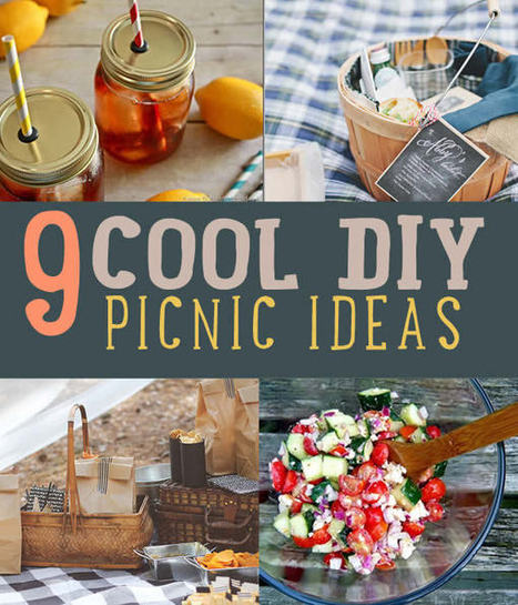 9 Best DIY Picnic Food Ideas & Crafts | Fun DIY Creative Ideas and Crafts | Scoop.it