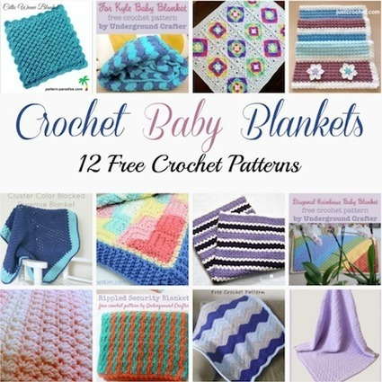 Guest post: 12 free crochet patterns for baby blankets, curated by Crochet Pattern Bonanza | Free Crochet Patterns | Scoop.it