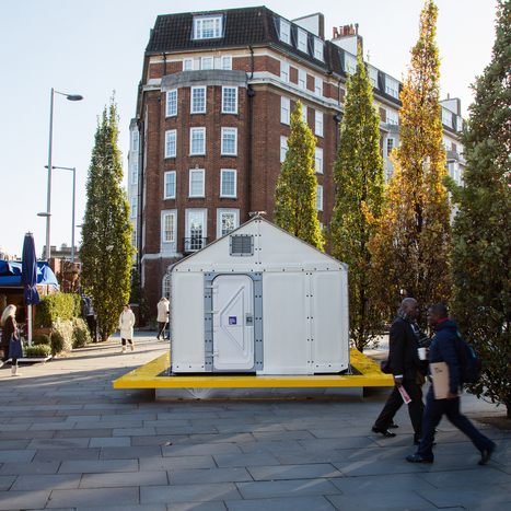 Design Museum installs IKEA refugee shelter on London streets | Agilité des espaces de travail | Scoop.it
