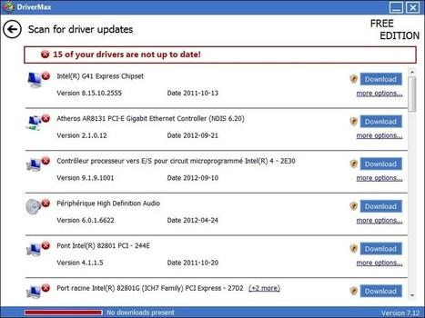 DriverMax : gardez vos pilotes à jour et sauvegardez-les en cas de problème | Allmyapps Le Mag | Scoop.it
