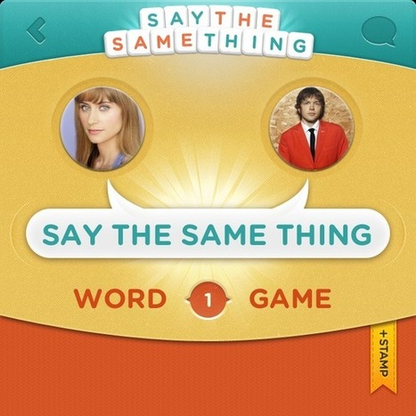 Say the Same Thing - A Word Game | EAL resources | Scoop.it