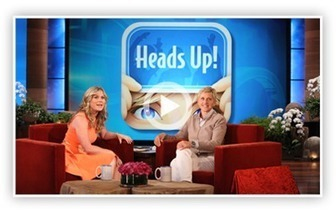 Ellen's New Game 'Heads Up!' | digital games & learning | Scoop.it