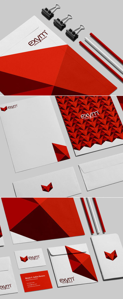 Branding, Visual Identity and Stationery Designs | Web & Graphic Design - Inspirational resources and tips!!! | Scoop.it