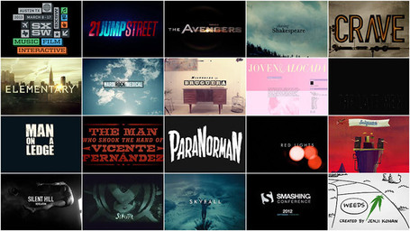 SXSW 2013 Film Awards: Title Design Finalists (19 Videos) | Vulbus Incognita Magazine | Scoop.it