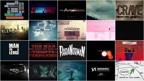 SXSW 2013 Film Awards: Title Design Finalists (19 Videos) | Cinephile | Scoop.it