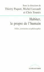Ouvrage : Habiter, le propre de l'humain   Habiter l'espace. Géographie de l'habiter   Scoop.it