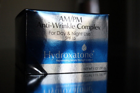 Hydroxatone Anti-Wrinkle Complex | fASHION wORLD | Scoop.it
