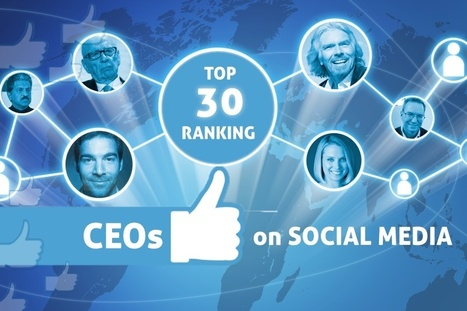 First Ranking Of Top 30 CEOs On Social Media | Analytics & Social media impact on Healthcare | Scoop.it