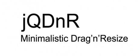 jQDnR – Un plugin jQuery de Drag'n'Resize   JFPalmier   WebDevelopment   Scoop.it