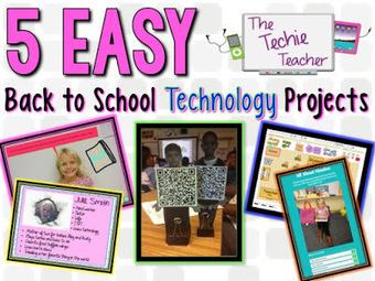 The Techie Teacher: 5 EASY Back to School Technology Projects | ipads | Scoop.it