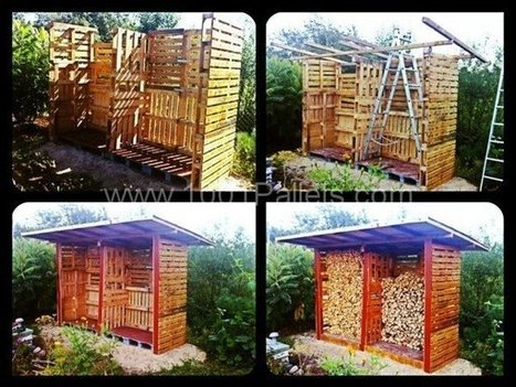 Firewood shed | 1001 Pallets | DIY | Scoop.it