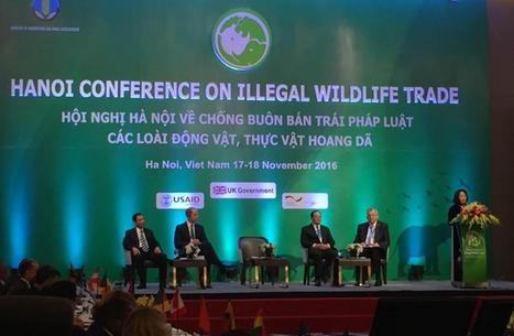 Intervention of CITES Secretary-General at Hanoi Conference on Illegal Wildlife Trade | CITES | Endangered Species News | Scoop.it