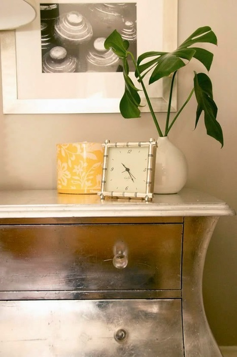The Superior Interiors Blog: Making Your Own DIY Silver Leaf Furniture | Interior Design Hot Topics | Scoop.it
