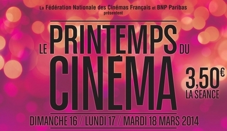 Le Printemps du cinéma : record d'affluence pour l'édition 2014 - 24matins | Audiovisuel | Scoop.it