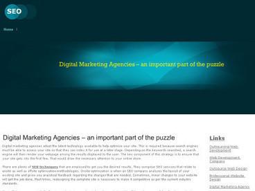 Industry Most Trusted Digital Marketing Agencies | Web2.0 Links | Scoop.it