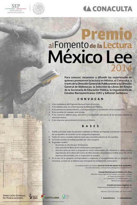 Premio al Fomento de la Lectura: México Lee 2014 | Educacion, ecologia y TIC | Scoop.it