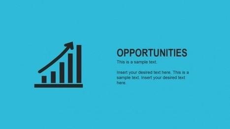 Modern Cross SWOT PowerPoint Template - SlideModel   PowerPoint Presentations   Scoop.it