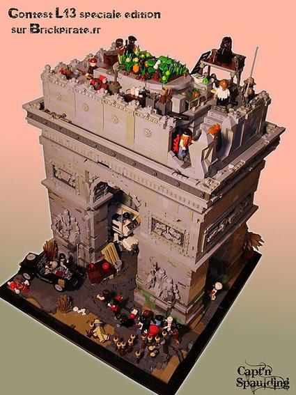 Bricks of the Dead - Zombie Creation: Arc de Triomphe | Zombie Mania | Scoop.it