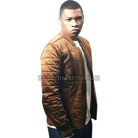 Franz Drameh Legends of Tomorrow Firestorm Bomber Quilted Jacket | Leather Jackets | Scoop.it