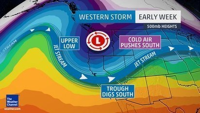 Next Winter Storm Blasts First Arctic Air of the Season Into West, Plains This Week - wunderground.com | Natural History, Environment, Science, and Technology | Scoop.it