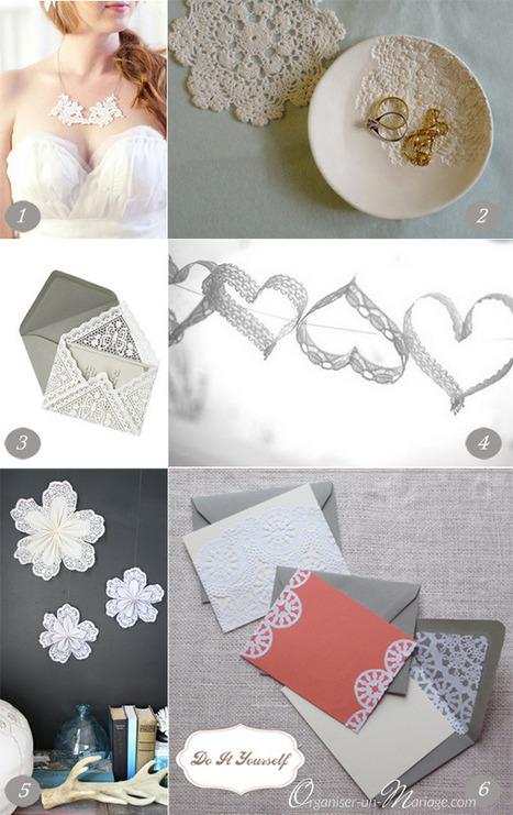 DIY Dentelle mania : photophores, lampions ... - Organiser un mariage | Accessoires de Mode | Scoop.it