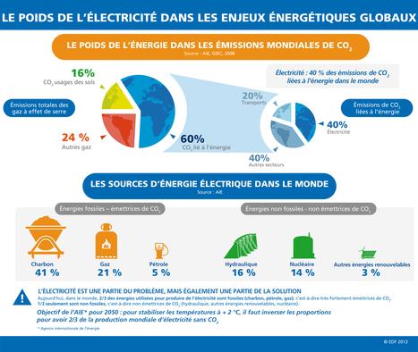Le poids de l'électricité dans les enjeux énergétiques globaux | Le groupe EDF | Scoop.it