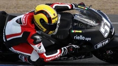 Ducati pleased with Jerez private test | Ductalk | Scoop.it