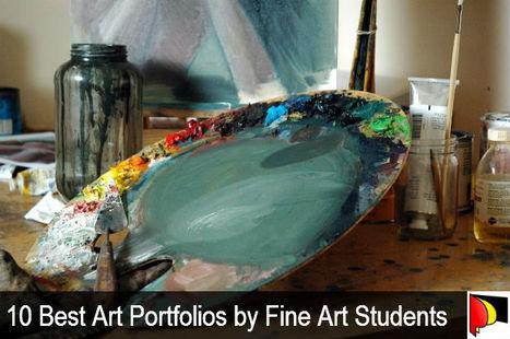 10 Best Art Portfolios by Fine Art Students | PortPrep Blog | Student Artists | Scoop.it