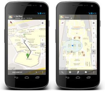 Google Lat Long: Let indoor Google Maps be your guide this holiday shopping season | OpenMap | Scoop.it
