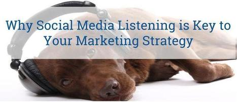 Why Social Media Listening Is Key To Your Marketing Strategy | It's a digital world | Scoop.it