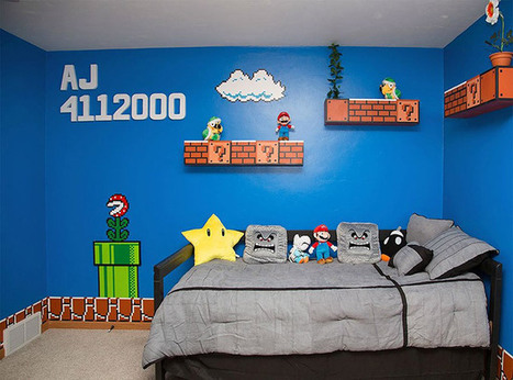 This Super Mario Themed Room | All Geeks | Scoop.it