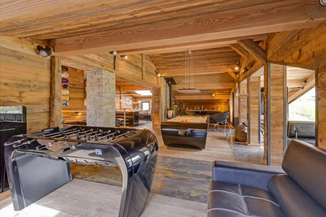 Tignes : le chalet prestigieux de Guerlain Chicherit à louer | Ecobiz tourisme - club euro alpin | Scoop.it