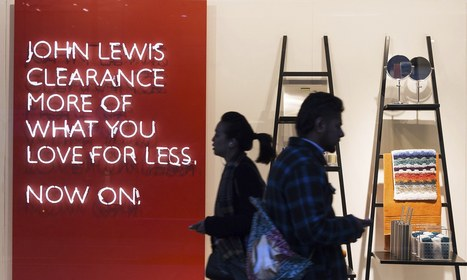 John Lewis enjoys record Christmas with 7% sales rise - The Guardian | Pricing and revenue models | Scoop.it