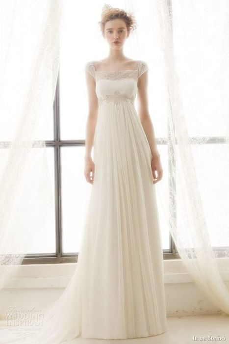 10 More Flattering Wedding Gowns with Empire Waistlines - I Do Take Two | Wedding Inspiration | Scoop.it